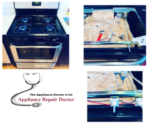 Frigidaire stove appliance repair service in Chicago