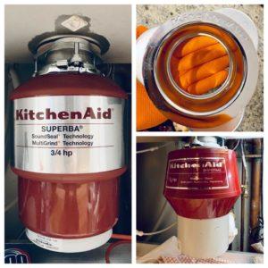 Kitchen Aid Disposal repair and installation