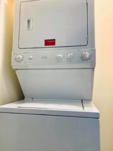 Frigidaire Dryer and Washer stacker repair